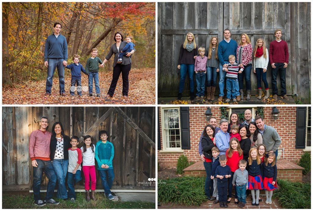 Family Portraits In the Fall